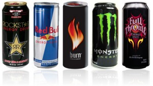 All type of Energy drinks